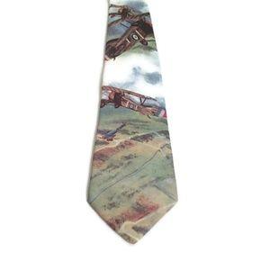 Ralph Marlin Planes Necktie